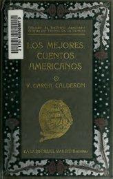 V.Garcia Calderon-Los mejores cuentos americanos- Viana, Palma, Marti, Montalvo