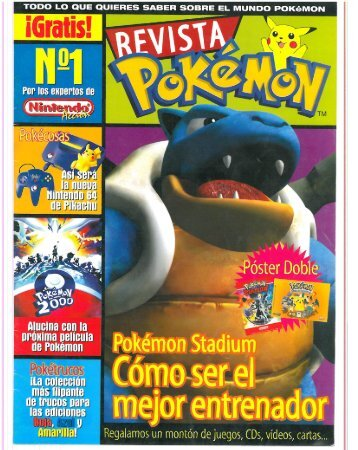 Revista Pokemon 01