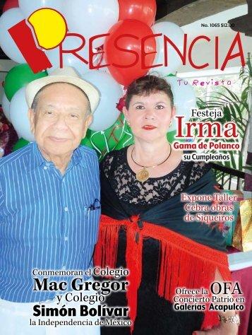 Revista Presencia 1165
