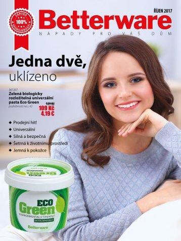 Betterware katalog Czech Team říjen 2017