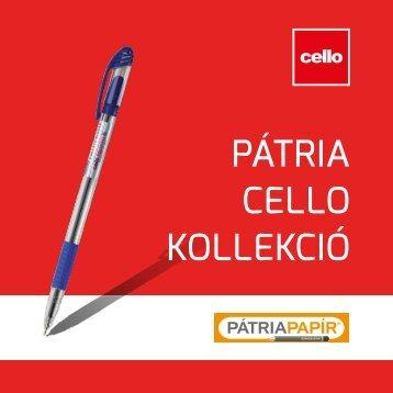 Cello Pátria katalógus