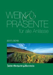 Geschenke Katalog 2017-2018