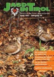 Jagdverpachtung - Tiroler Jägerverband