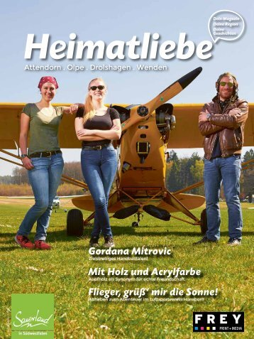 HEIMATLIEBE-BIGGESEE Augabe 2 Sommer Herbst 2017