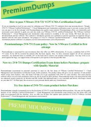 2V0-731 VMware Exam Questions Updated 2017