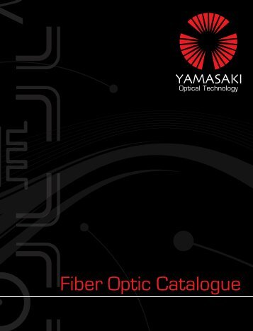 Fiber Optic Catalogue - yamasakiot.com