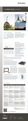 De slimme solar lichtmast Soluxio brochure - Page 2