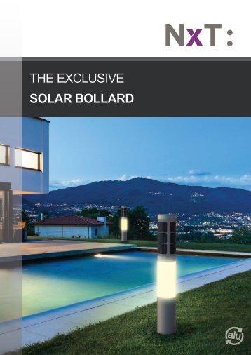 NxT solar outdoor lighting