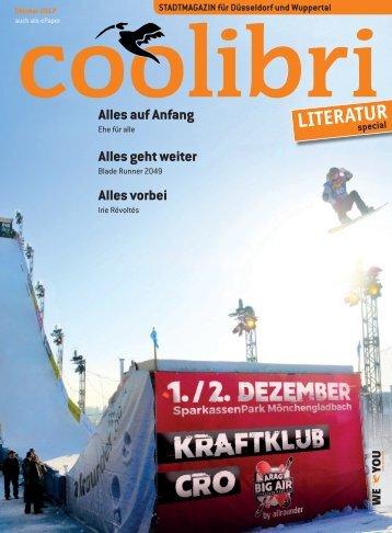 Oktober 2017 - coolibri Düsseldorf und Wuppertal