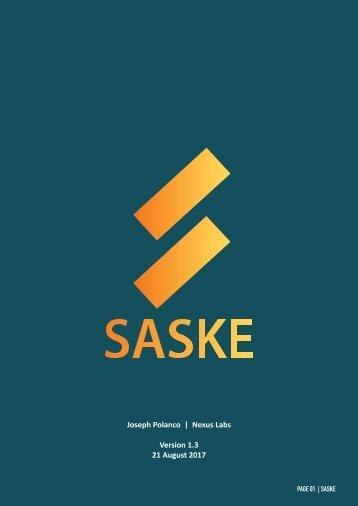 SASKE Whitepaper v.1.3