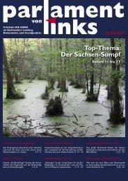 Der Sachsen-Sumpf - Fraktion DIE LINKE im Sächsischen Landtag