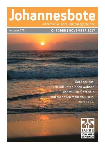 Johannesbote #175 Oktober/November 2017