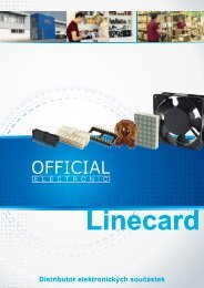 Official Electronic Linecard CZ