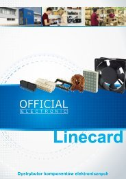 Official Electronic Linecard PL