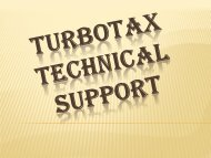 Turbotax Technical Support 1-888-827-9060