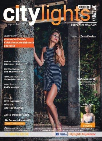 Citylights Knjazevac SEPTEMBAR 2017