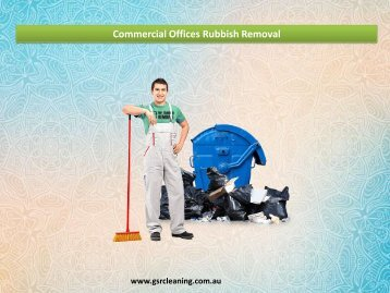 Commercial Offices Rubbish Removal