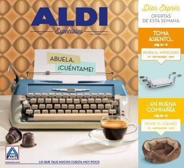 Revista ALDI 27 hasta 1 de Octubre 2017