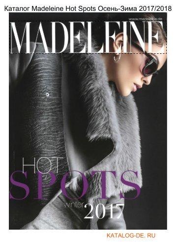 Каталог madeleine spots Осень-Зима 2017/2018.Заказывай на www.katalog-de.ru или по тел. +74955404248.