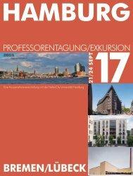 Prof.-Tagung/-Exkursion 2017_Hamburg/Bremen/Lübeck