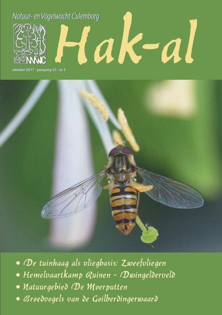 Hak-al nr.3 2017 Natuur en Vogelwacht Culemborg