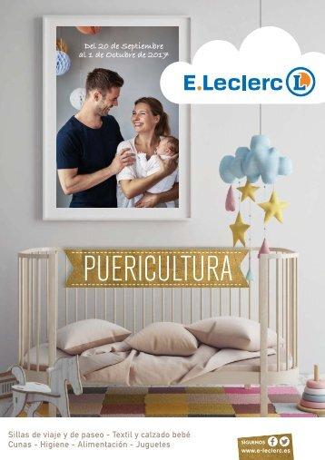 Folleto E.Leclerc Puericultura hasta 1 de Octubre 2017