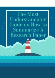 The Most Understandable Guide on How to Summarize a Research Paper