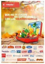 Folleto superSol supermercados hasta 3 de Octubre 2017