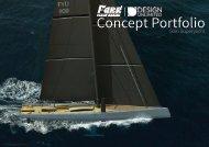 Design 809  50m Superyacht Concept Portfoilio