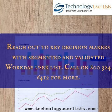 WorkDay User List