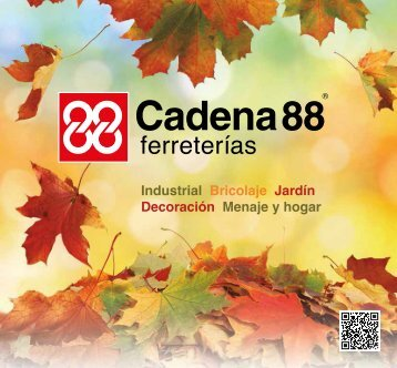 Folleto Cadena88 Otoño 2017 hasta 30 de Octubre