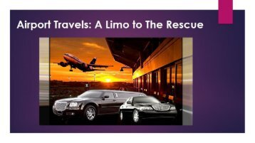 Airport Travels A Limo to The Rescue