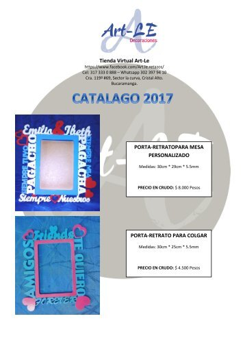 Catalago Art-LE
