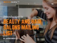 Beauty and Hair Salons Mailing List (1)