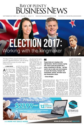Bay of Plenty Business News September/October 2017