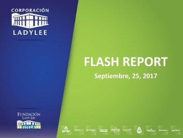 Flash Report  25 de Septiembre  2017