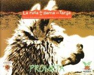 La Ruta de la llama en Tarija