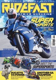RideFast magazine October 2017 issue