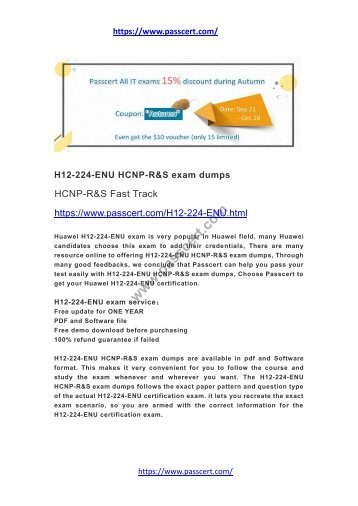 H12-224-ENU HCNP-R&S exam dumps