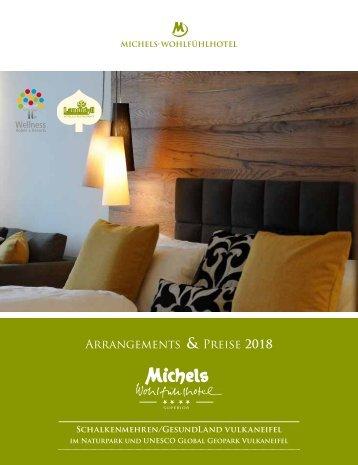 Michels Wohlfuehlhotel - Arrangements und Preise 2018