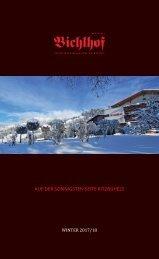 Bichlhof Winterpreisliste 2017/18