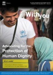 UNHCR-PH With You (Q3-2017)