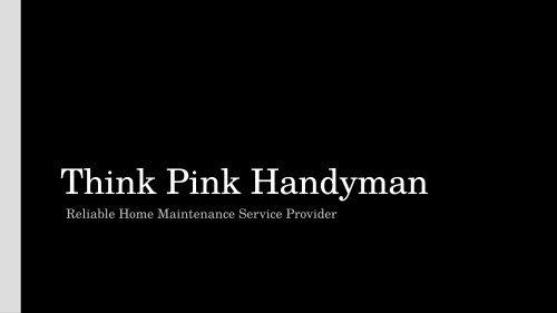 Paving Contractors Melbourne - Think Pink Handyman