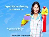 Expert House Cleaning In Melbourne