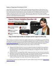Replace or Change Epson Printer Waste Ink Tank