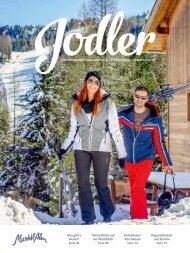 Jodler Winter 2017/18 - Die Gästezeitung von der MarktlAlm