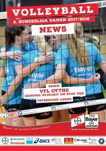 Spieltagsnews Nr. 2 gegen VfL Oythe