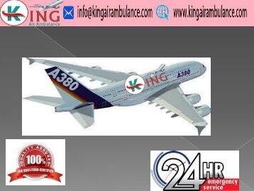 King Air Ambulance Service in Delhi with Doctor Facility