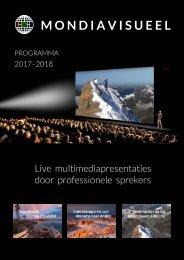 Mondiavisueel seizoenprogramma 2017 - 2018