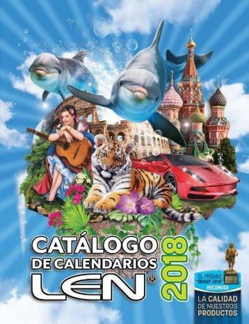 Catálogo Calendarios LEN 2018
